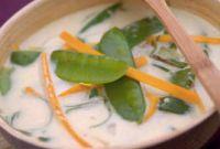soupe thai au crabe
