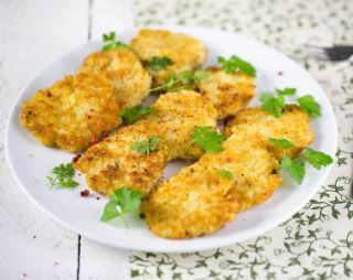 croquette coquillette emmental