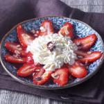 carpaccio fraise gingembre