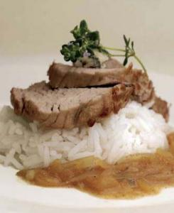 Filet mignon de veau sauce roquefort - Filet mignon au roquefort ...