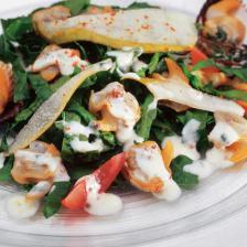 salade epinard coque yaourt