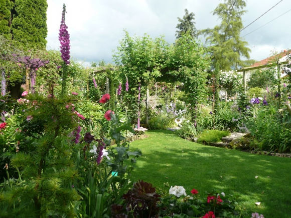 Rendez vous aux jardins petit jardin tendresse for Jardin 800m2