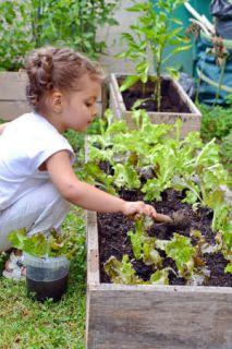 jardiner enfants