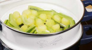 ragout de concombre