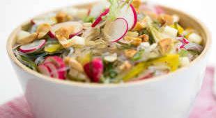 salade aux vermicelles