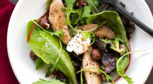 salade oeuf filet caille
