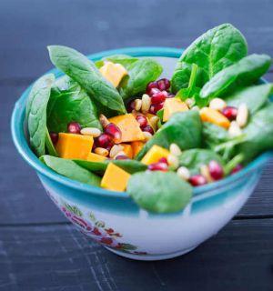 salade sucré salé au agrumes clémentines