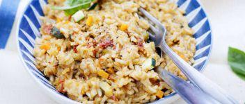 riz vegetarien