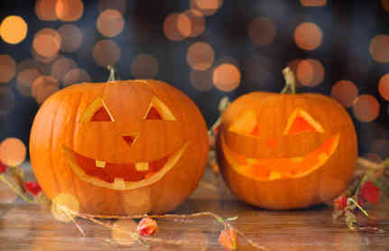 Halloween origine et citrouille jack o lantern - Image citrouille halloween ...