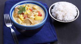 curry de poulet au yaourt