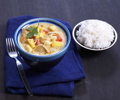 curry de poulet au yaourt