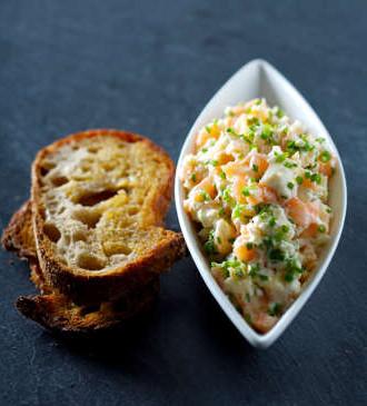 rillette de langres et saumon