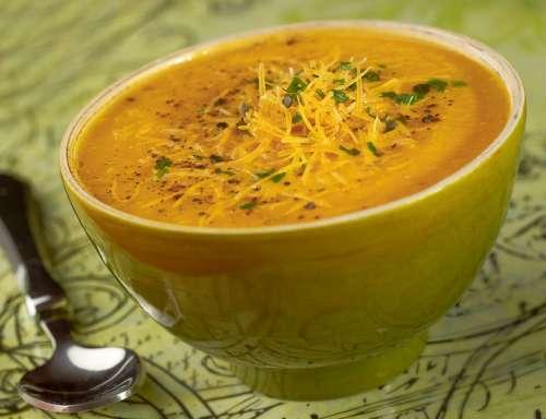 veloute carotte mimolette