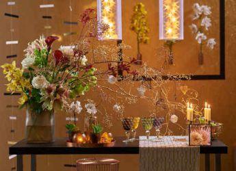decoration florale noel