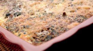 gratin epinard quinoa