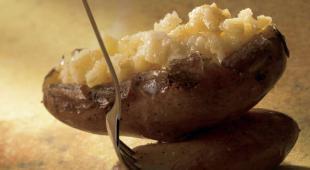 ecrase pomme de terre au four