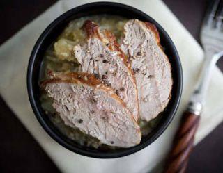 Filet mignon de porc à la nantaise