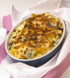 lasagnes truite epinard