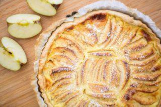 tarte aux pommes reinette