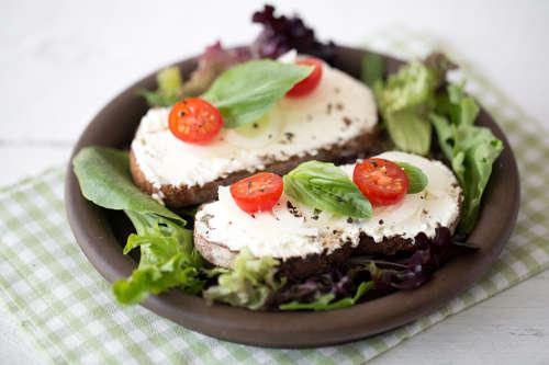 Bruschettas au fromage