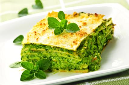 lasagne ricotta basilic épinard