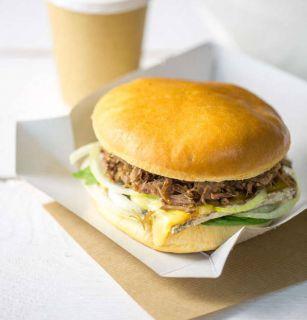 Burger canard