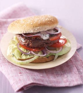 burger boeuf fromage blanc