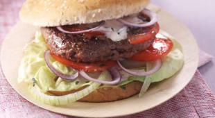 burger boeuf fromage blanc
