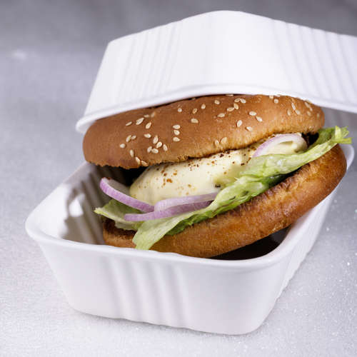 burger au boeuf et au Saint Marcellin