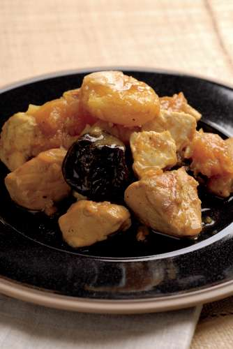 confit poulet potiron