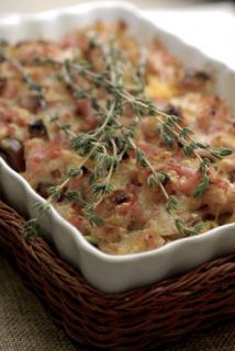crumble bacon fromage