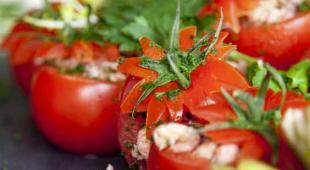 tomate farci