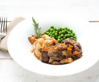 recette d'Epaule d'agneau braisée ragoût de légumes