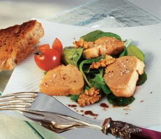 foie gras cuit au sel de guerande