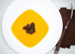 Soupe courge mandarine clémentine
