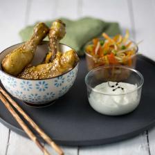 verrine asiatique poulet legumes