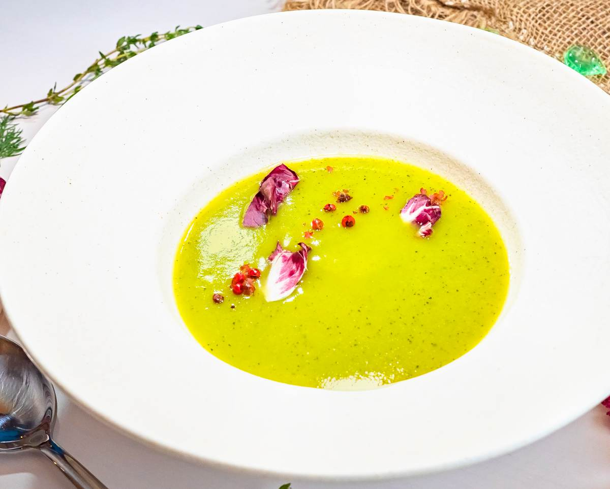 Soupe potiron courgette