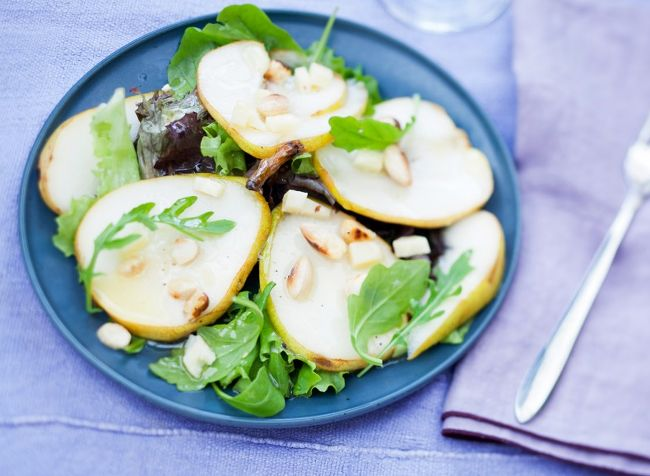 salade de poire