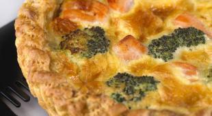 tarte saumon brocoli