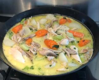 waterzoi de poulet recette