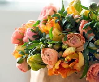 bouquet de renoncule