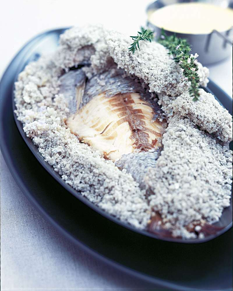 daurade croute de sel