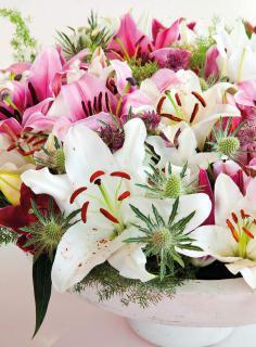 bouquet lys saint valentin