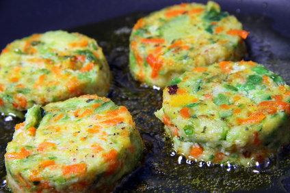 Galette de l gumes recette cuisson ingr dients - Cuisiner petit pois en boite ...