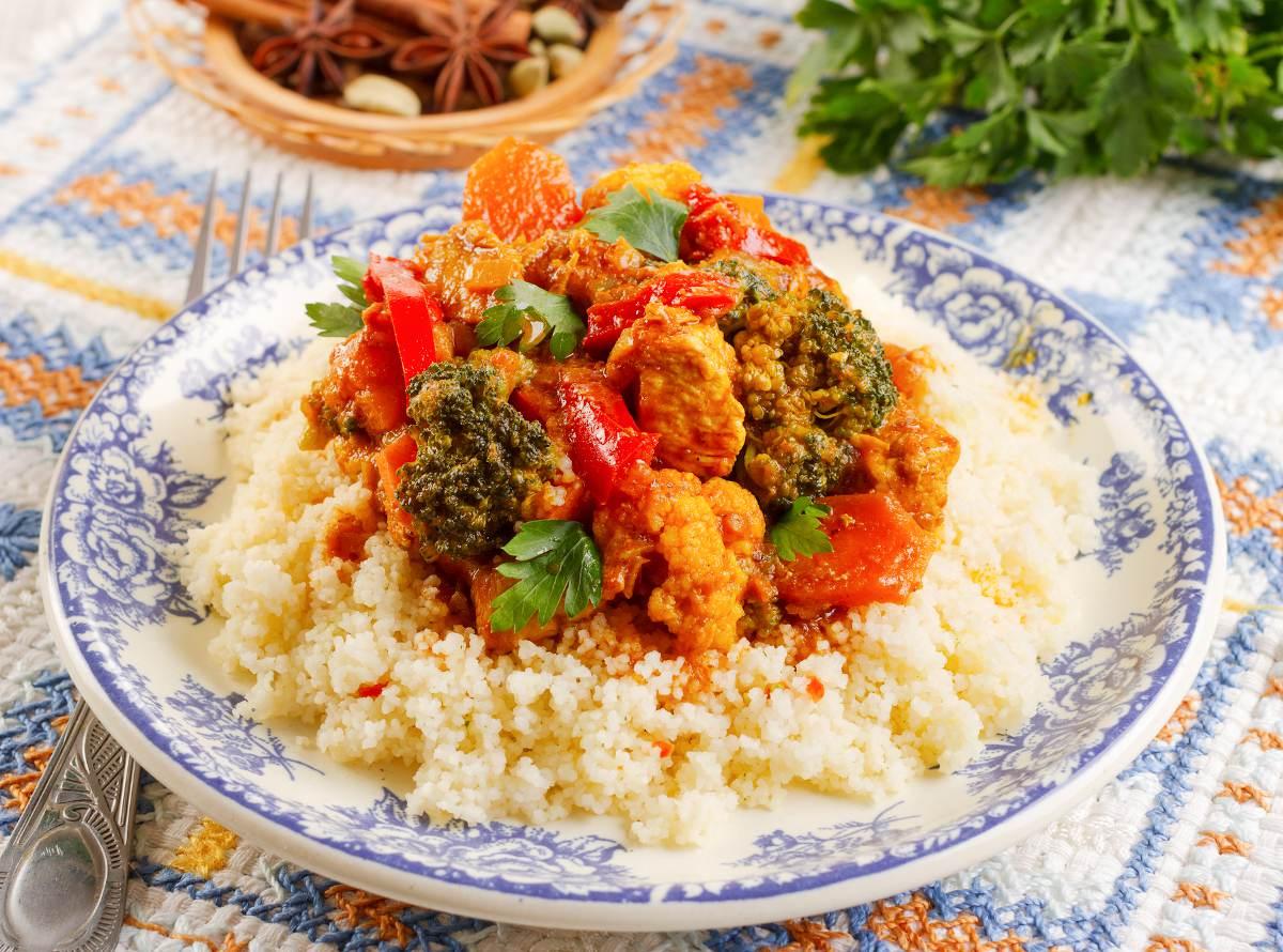 Couscous Royal Recette Legumes Viande Et Epices