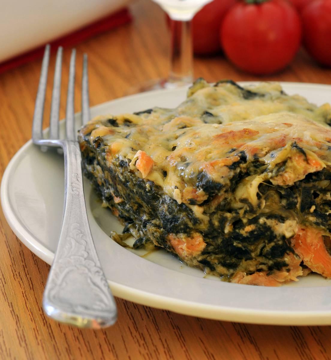 Lasagne saumon epinard recette