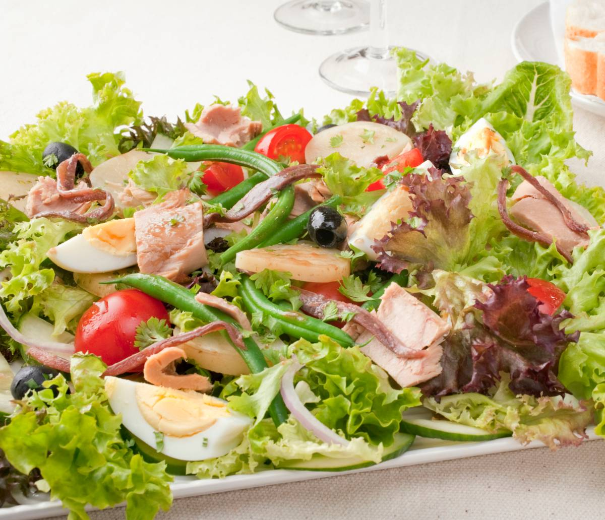Salade nicoise recette ingredients