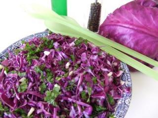 salade chou rouge