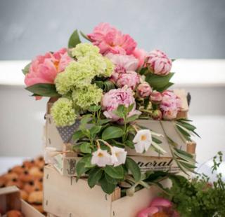 deco florale champetre