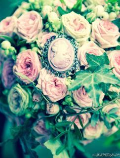 decoration florale vintage